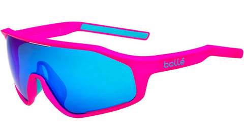 Bolle - Shifter Matte Pink Sunglasses / Blue Lenses
