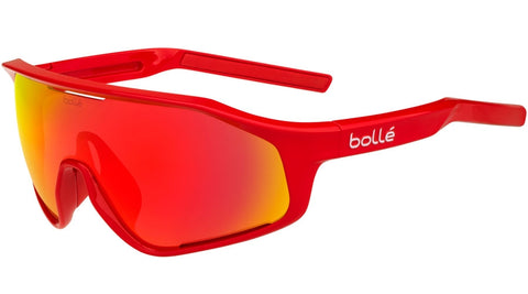 Bolle - Shifter Shiny Red Sunglasses / Phantom Brown Red Lenses