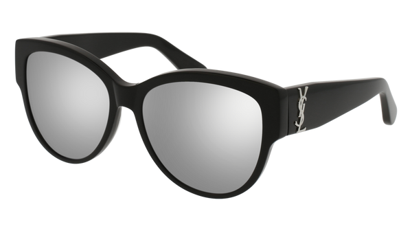 Saint Laurent - SL M3 Black Sunglasses / Silver Lenses