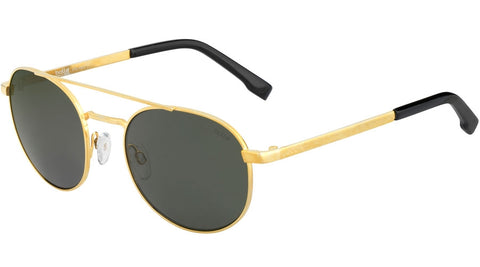 Bolle - Ova Shiny Gold Sunglasses / HD Polarized Axis Lenses