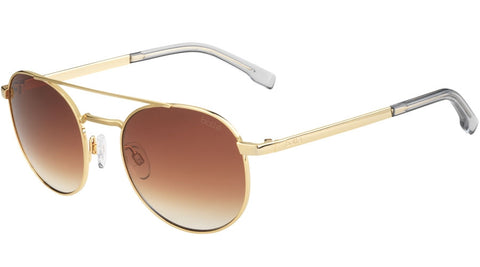 Bolle - Ova Shiny Gold Sunglasses / Brown Gradient Lenses