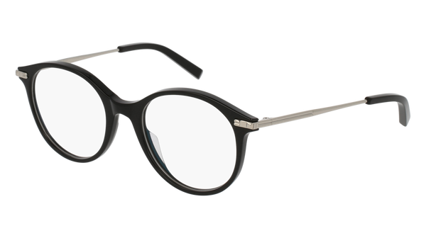 Boucheron - BC0038O Black Silver Eyeglasses / Demo Lenses
