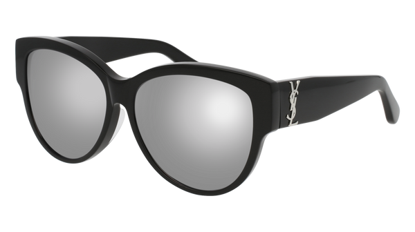 Saint Laurent - SL M3/F Silver Sunglasses / Grey Lenses