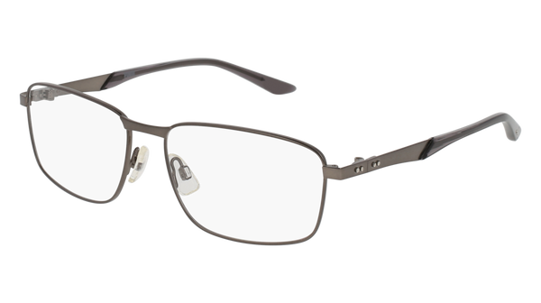 Puma - PU0093O Matte Ruthenium Eyeglasses / Demo Lenses