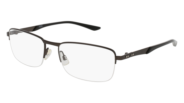Puma - PU0094O Ruthenium Eyeglasses / Demo Lenses