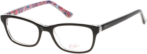 Candie's - CA0504 48mm Black Eyeglasses / Demo Lenses