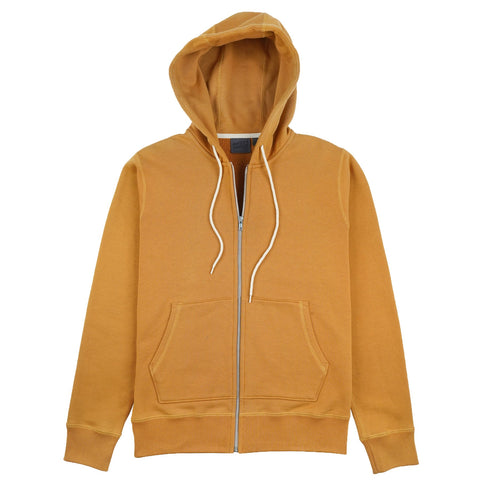Naked & Famous Denim - Heavyweight Terry Amber ZIp Hoodie