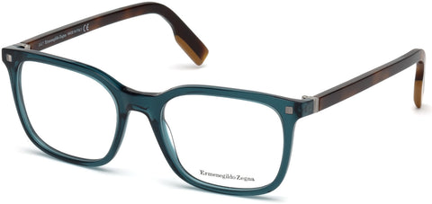 Ermenegildo Zegna - EZ5121 Shiny Blue Eyeglasses / Demo Lenses