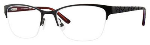 Adensco - Ad 221 51mm Matte Black Eyeglasses / Demo Lenses