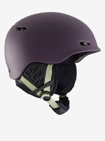 Anon - Women's Griffon Medium Purple Snow Helmet