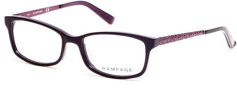 Rampage - RA0207 Shiny Violet Eyeglasses / Demo Lenses