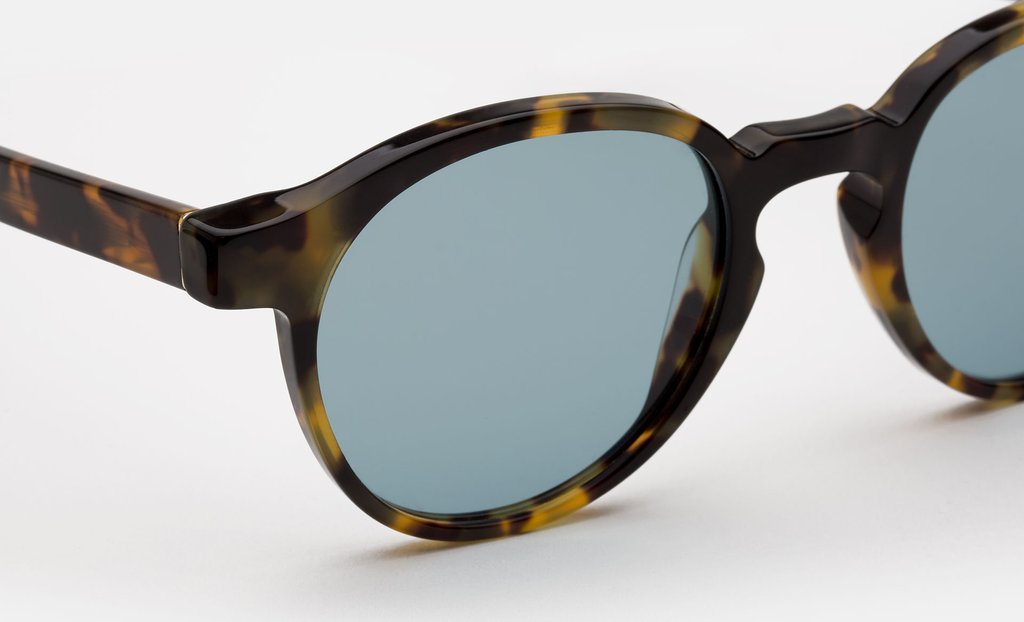 62a82ec6a65 ... Super - Andy Warhol The Iconic Series Cheetah Sunglasses   Blue Lenses  ...
