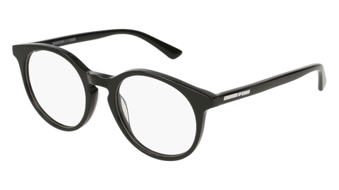 McQ - MQ0129O 49mm Black Eyeglasses / Demo Lenses