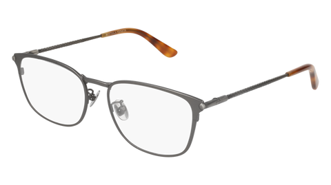 Bottega Venetta - BV0186O Ruthenium Eyeglasses / Demo Lenses
