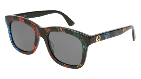 Gucci - GG0326S Multicolor Sunglasses / Grey Lenses