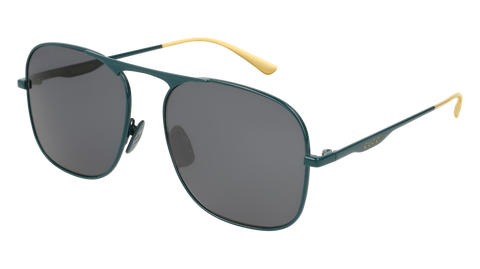Gucci - GG0335S Green Sunglasses / Grey Lenses