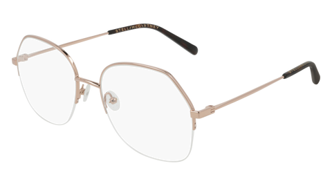 Stella McCartney - SC0159O Gold Eyeglasses / Demo Lenses
