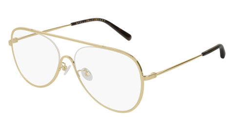 Stella McCartney - SC0160O Gold Eyeglasses / Demo Lenses
