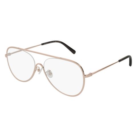Stella McCartney - SC0160O Pink Eyeglasses / Demo Lenses
