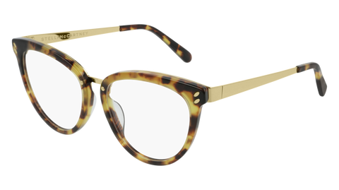 Stella McCartney - SC0162O Light Havana Eyeglasses / Demo Lenses