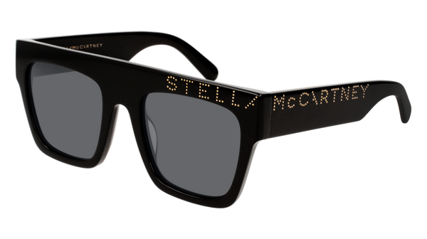 Stella McCartney - SC0170S Black Sunglasses / Grey Lenses