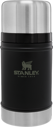 Stanley - Classic Legendary Matte Black 24oz Vacuum Food Jar