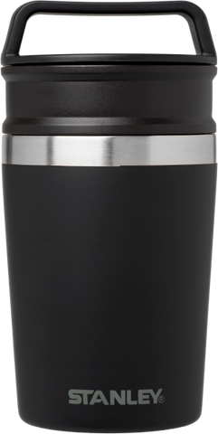 Stanley - Adventure Shortstack Matte Black 8oz  Vacuum Mug /  Lenses