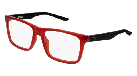 Puma - PJ0029O Red Black Eyeglasses / Demo Lenses