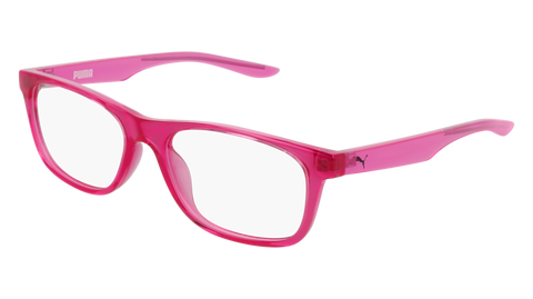 Puma - PJ0030O Red Pink Eyeglasses / Demo Lenses