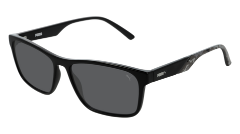 Puma - PU0199S Black Sunglasses / Smoke Lenses