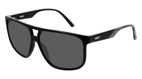 Puma - PU0200S Black Sunglasses / Smoke Lenses