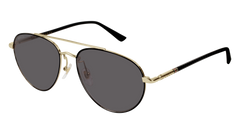 Gucci - GG0388SA Gold Sunglasses / Grey Lenses
