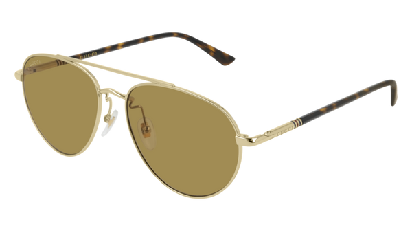 Gucci - GG0388SA Gold Sunglasses / Brown Lenses