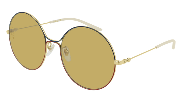 bc84b3d1395 Gucci - GG0395S Gold Sunglasses   Yellow Lenses – New York Glass