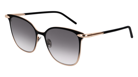 Pomellato - PM0052S 53mm Black Sunglasses / Gold Grey Lenses