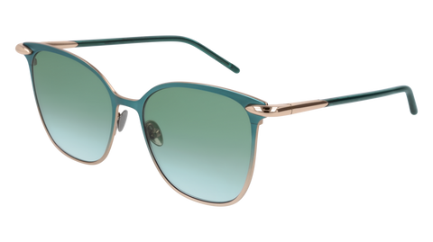 Pomellato - PM0052S 53mm Green Sunglasses / Gold Green Lenses
