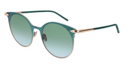 Pomellato - PM0053S 52mm Green Sunglasses / Gold Green Lenses