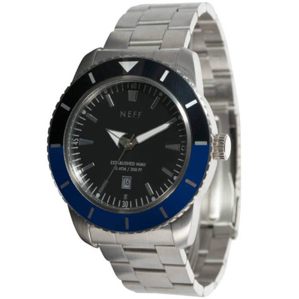 Neff - Pretender Silver/Blue Watch