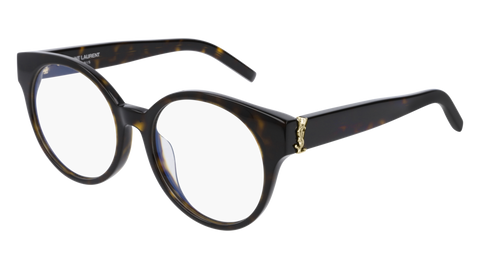 Saint Laurent - SL M32/F Light Havana Eyeglasses / Demo Lenses