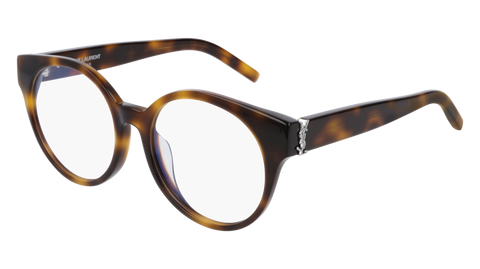 Saint Laurent - SL M32/F Blonde Havana Eyeglasses / Demo Lenses