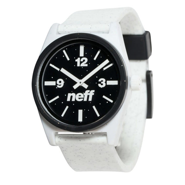 Neff - Duo White Speckle Watch
