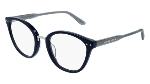 Bottega Venetta - BV0195O Blue Eyeglasses / Demo Lenses