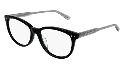 Bottega Venetta - BV0196O Black Eyeglasses / Demo Lenses