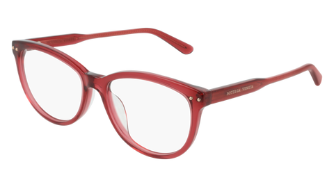 Bottega Venetta - BV0196O Red Eyeglasses / Demo Lenses