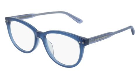 Bottega Venetta - BV0196O Blue Eyeglasses / Demo Lenses