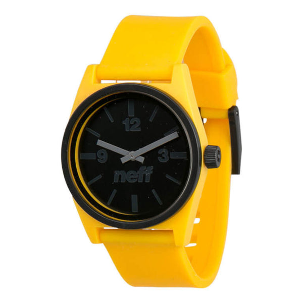 Neff - Duo Black/Yellow Watch