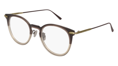 Bottega Venetta - BV0211O Brown Eyeglasses / Demo Lenses