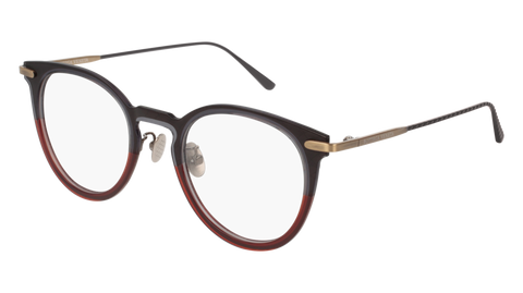 Bottega Venetta - BV0211O Grey Eyeglasses / Demo Lenses