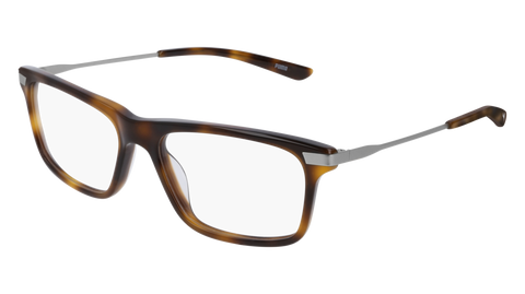 Puma - PU0237O Ruthenium Eyeglasses / Demo Lenses