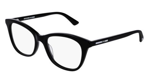 McQ - MQ0169O 51mm Black Eyeglasses / Demo Lenses